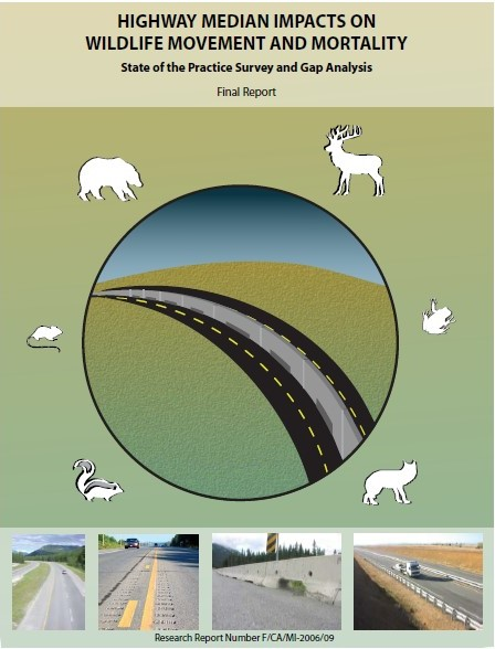 Highway Median Impacts on Wildlife Movement and Mortality