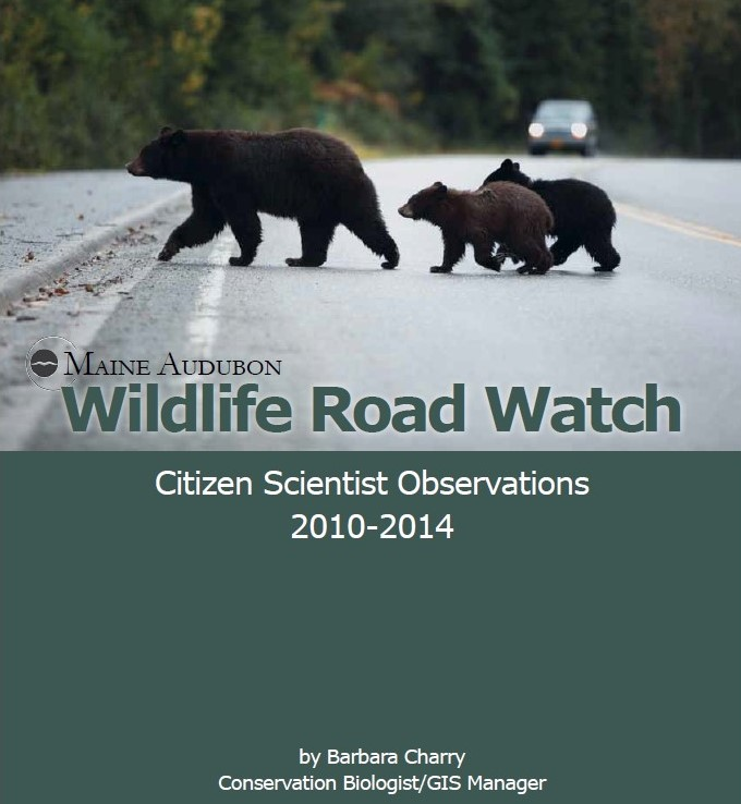 Wildlife Road Watch: Citizen Scientist Observations 2010-2014