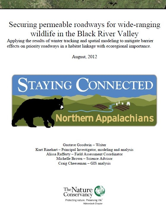 Securing Permeable Roadways for Wide-Ranging Wildlife in the Black River Valley