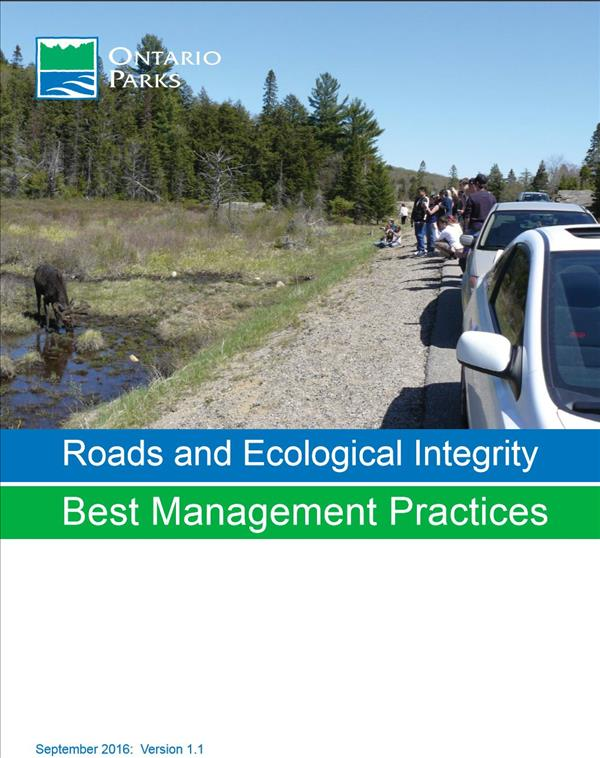Roads and Ecological Integrity: Best Management Practices