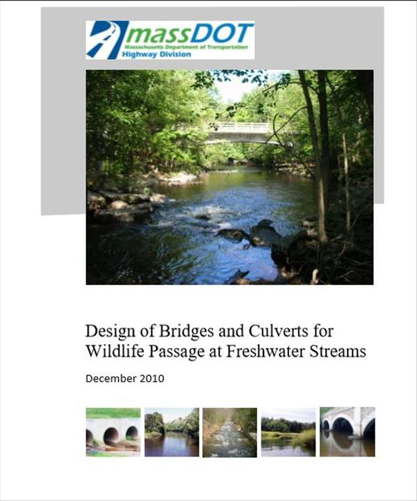 Design of Bridges and Culverts for Wildlife Passage at Freshwater Streams